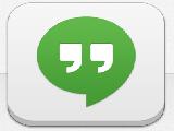 Hangouts for iPhone/iPad 2.0.2 دردشة كتابية وصوتية وفيديو للايفون وللايباد