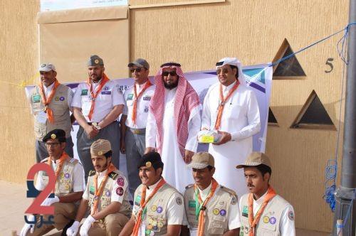 """افتتاح منافسات  رسل السلام في الرس بمشاركة """"300"""" كشاف على مستوى المملكة"""