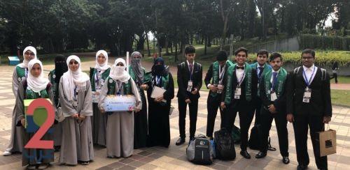 """طلاب وطالبات السعودية يحصدون """"12"""" ميدالية في معرض آيتكس الدولي"""