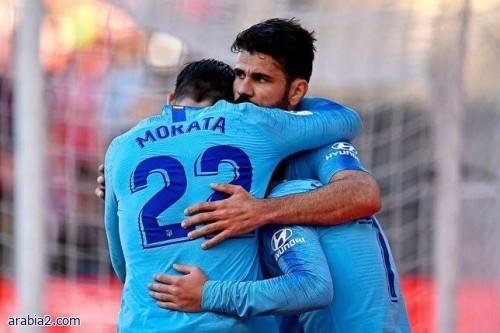 أتلتيكو مدريد يستعيد موراتا ودييجو كوستا