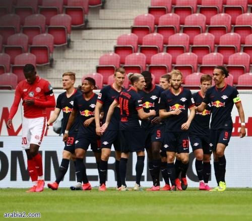 سقوط مفاجئ للايبزيج في الدوري الألماني أمام متذيل الترتيب