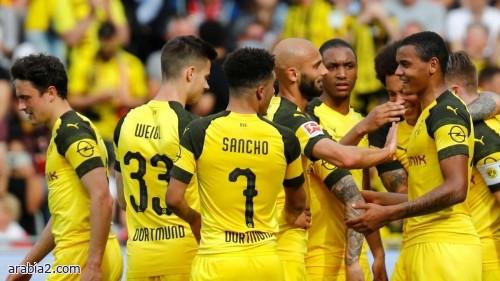 تشكيلة بوروسيا دورتموند في مباراة اليوم ضد هيرتا برلين
