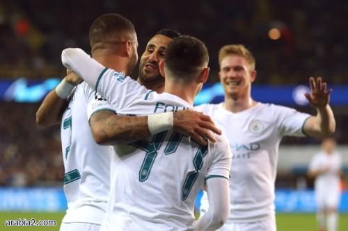 ملخص واهداف مباراة كلوب بروج و مانشستر سيتي في دوري أبطال اوروبا