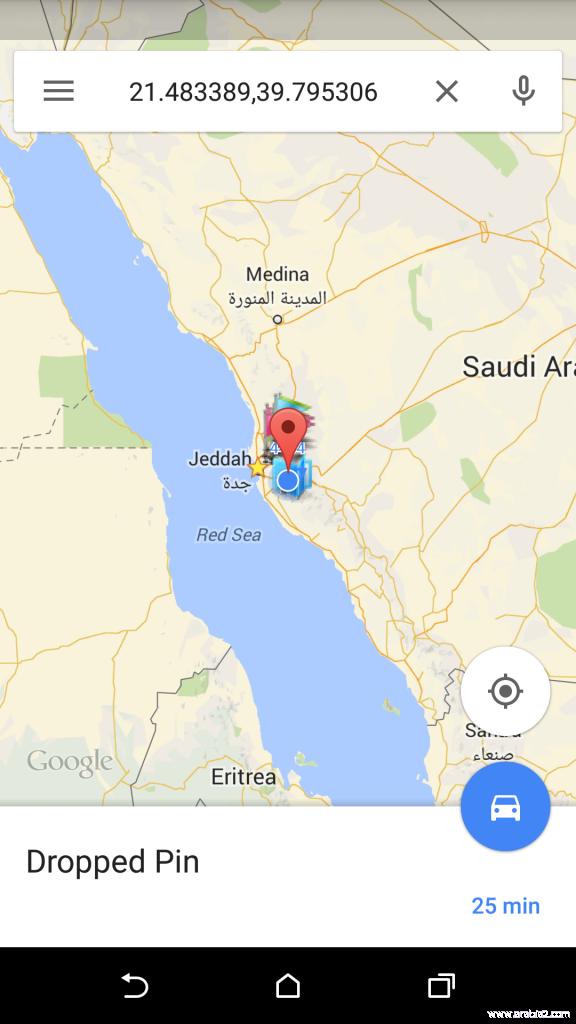 تعليم مكة يعتمد الخارطة المدرسية بنظام GPS