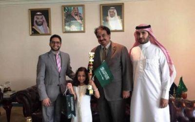 طالبة سعودية تحصد المركز الثاني في مسابقة عالمية بماليزيا