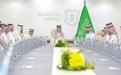 العيسى: نسعى لجعل وزارة التعليم في مقدمة الوزارات التي تنجح في تحقيق أهداف رؤية المملكة