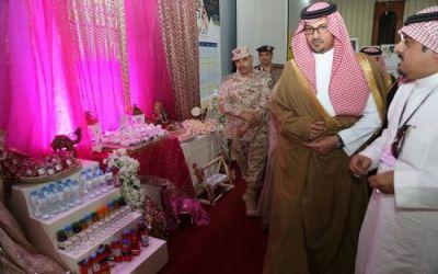 نائب سمو أمير منطقة المدينة يزور جناح التعليم في معرض الدفاع المدني