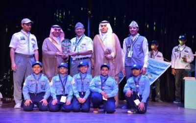 اختتام منافسات رسل السلام للتميز الكشفي لمرحلة الأشبال على مستوى المملكة