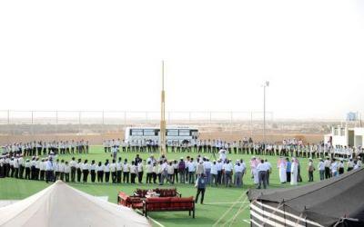 """القصيم.. افتتاح منافسات رسل السلام بمشاركة """"300"""" كشاف على مستوى المملكة"""