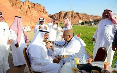 """تدشين مشروع مدرسة عثمان بن عفان بالعلا """"صحتي سلامتي"""""""