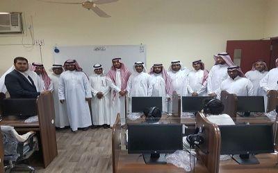 """افتتاح معمل """"الزاحمي"""" للصوتيات واللغة الإنجليزية بالمدرسة السعودية"""