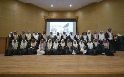 مدير جامعة طيبة يرعى تخريج الدفعة السادسة من طلبة الجامعة بالعلا