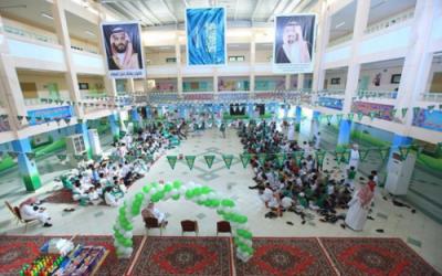 بالصور.. 64 ألف طالب وطالبة بالخرج يحتفلون بذكرى اليوم الوطني