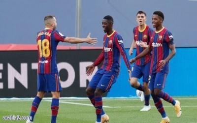 ديمبيلي سيكلف برشلونة مبلغا كبير في مباراته ضد الافيس